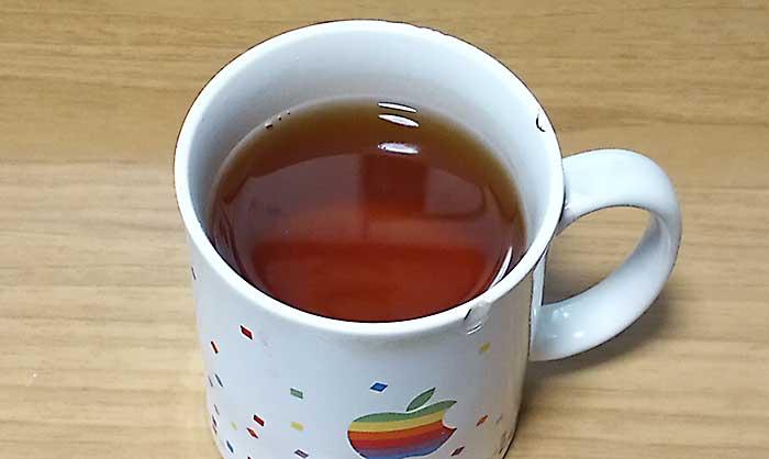 色は紅茶に似ているルイボスティー